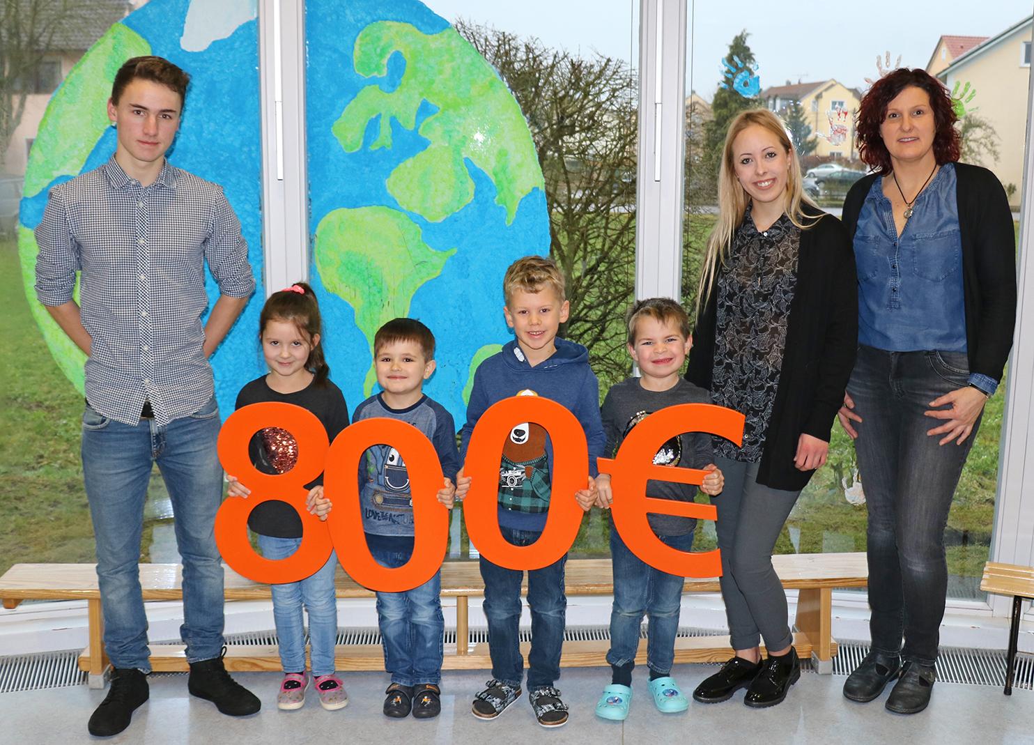 800 Euro für Kindergarten St. Anna in Krondorf