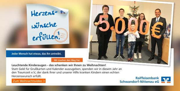 Weihnachtswünsche Für Einen Kranken.Weihnachtsvideo Volksbank Raiffeisenbank Regensburg Schwandorf Eg